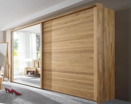 jupiter kleiderschrank schieb 240 cm mit spiegel. Black Bedroom Furniture Sets. Home Design Ideas