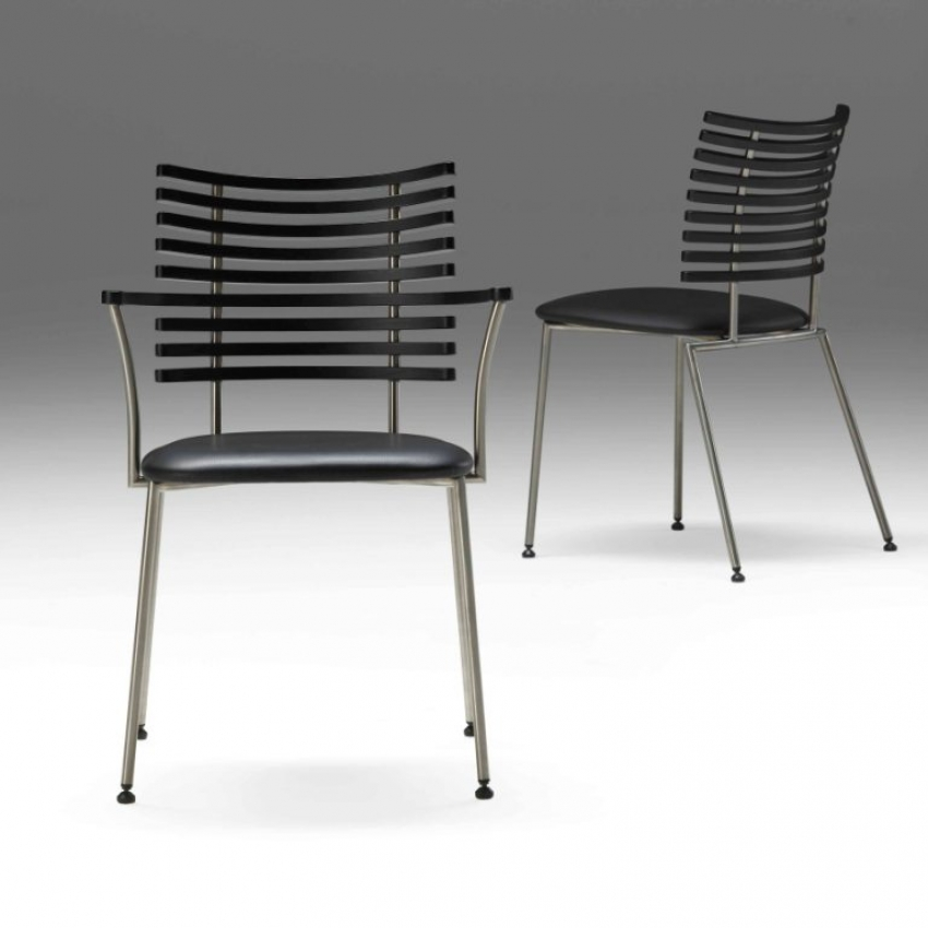 Gm 4106 tiger stuhl mit armlehne esche schwarz viking for Stuhl mit armlehne schwarz