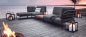Preview: HOUE - LEVEL Lounge-Set 4-teilig, Sooty grey