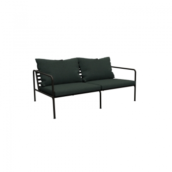 HOUE - AVON Lounge, 2er Sofa, Alpine green