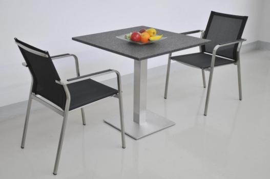 bistrotisch inox 90 x 90 cm paradiso bash 520 m belhaus comodo 5724 d rren sch ihr massivholz. Black Bedroom Furniture Sets. Home Design Ideas