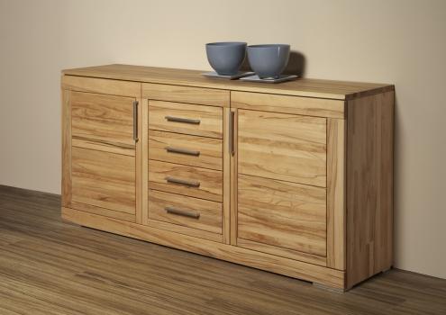 casera sideboard 2 4 kernbuche ge lt m belhaus comodo. Black Bedroom Furniture Sets. Home Design Ideas
