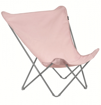 Pop Up XL Sessel Titane/Rose Tulip