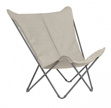 Sphinx Lounge Chair Titane/Latte