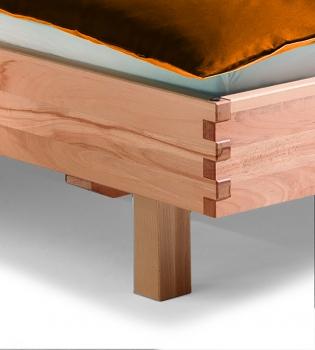 einstecklehne zu bett titiano kernbuche m belhaus comodo. Black Bedroom Furniture Sets. Home Design Ideas