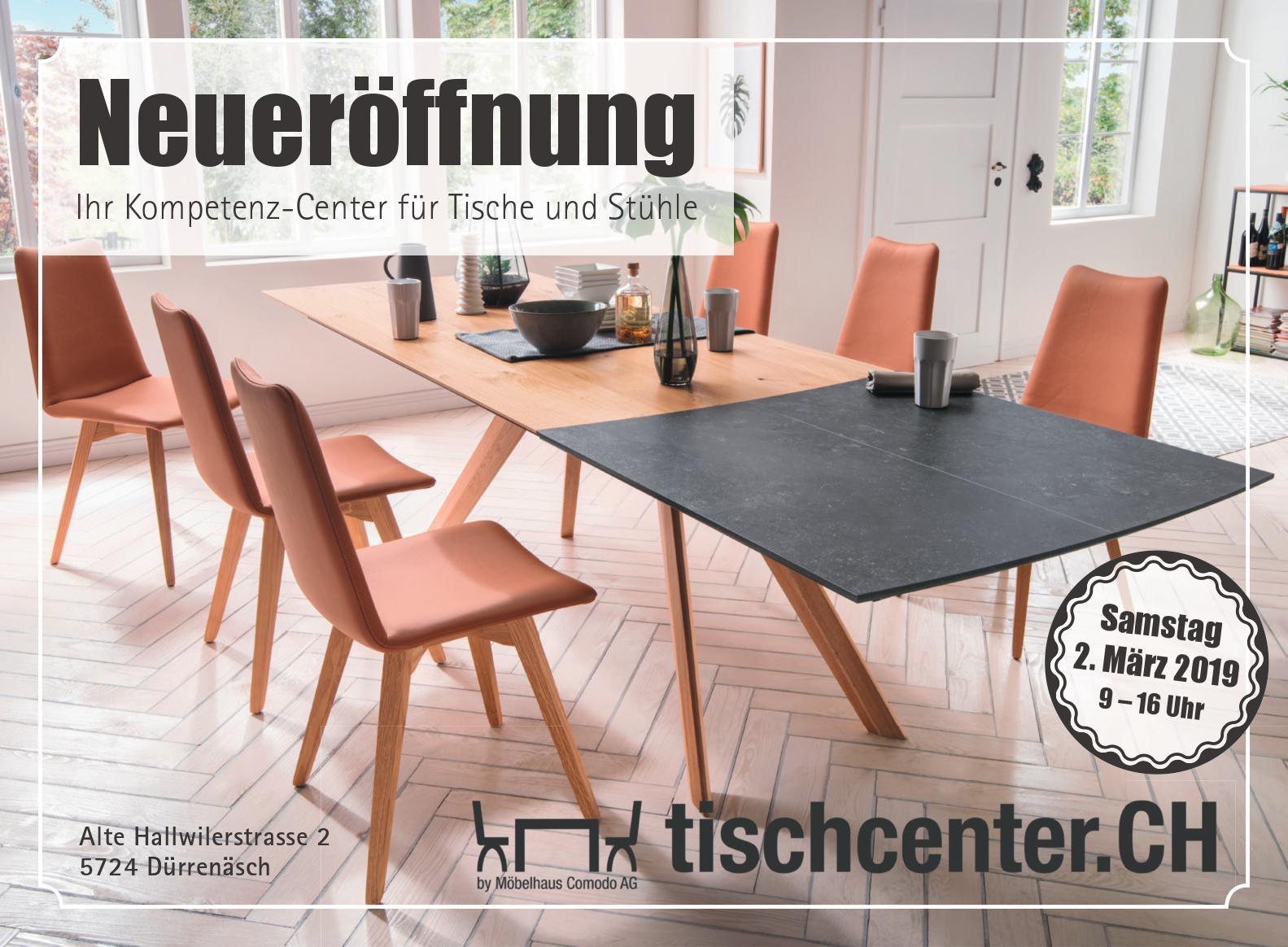 Tischcenterchmöbelhaus Comodo 5724 Dürrenäsch Ihr Massivholz Fachmann